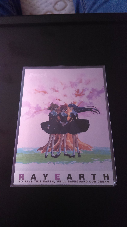 Rayearth OVA Collector Card SP 1/9 Border NM