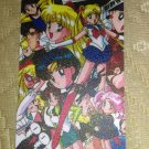 Sailor Moon Textured Plastic Sticker Card G
