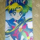 Sailor Moon Textured Plastic Sticker Card H