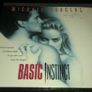 BASIC INSTINCT MICHAEL DOUGLAS LASERDISC LASER DISC