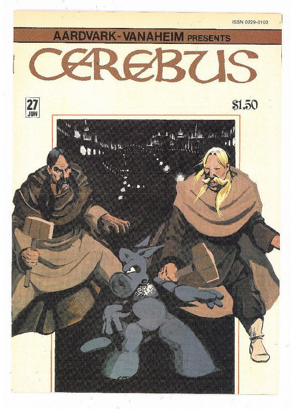 Cerebus the Aardvark #27, Aardvark-Vanaheim 1981, Dave Sim NM Comics Comic Book