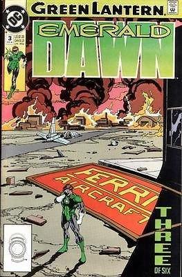 DC Green Lantern Emerald Dawn #3 NM! Comics Book Comic
