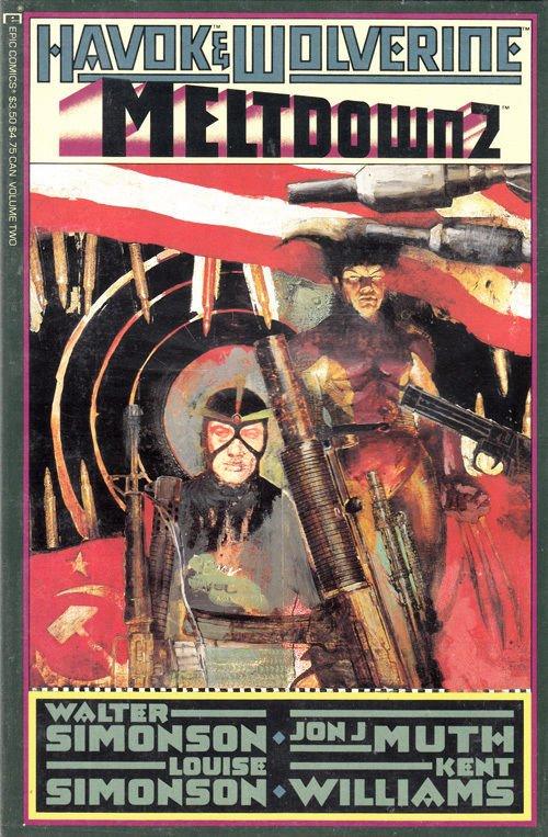 Havok & Wolverine: Meltdown #2 - MARVEL COMICS - VF