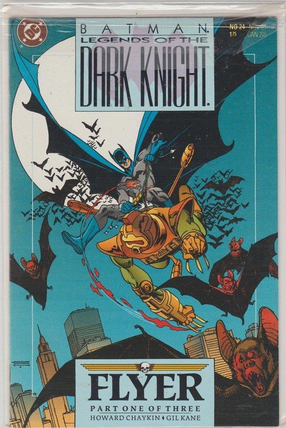 Batman Legends Of The Dark Knight NO.24******Very FINE*****HUGE Sale