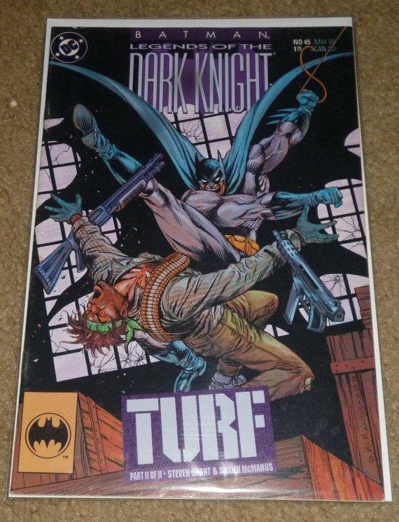 Legends Of The Dark KNIGHT (BATMAN) (1989 Series) #45 Near Mint Comics Book