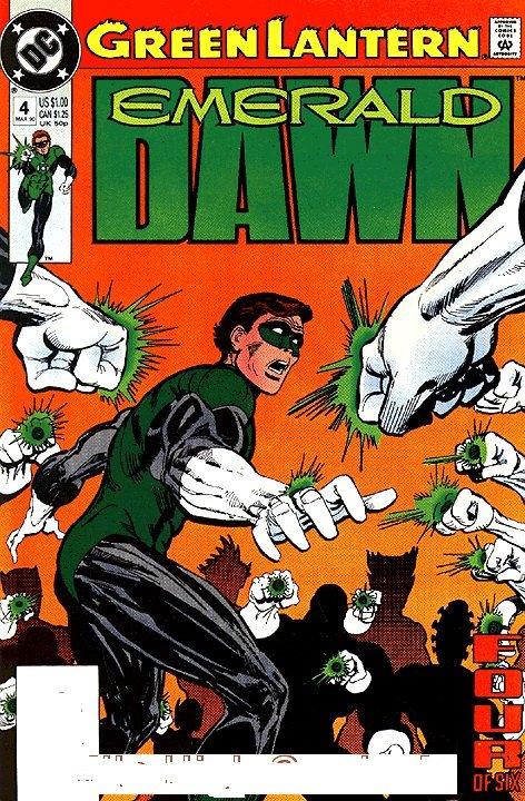 Green Lantern: EMERALD DAWN (1989 Series) #4 Near Mint Comics Book
