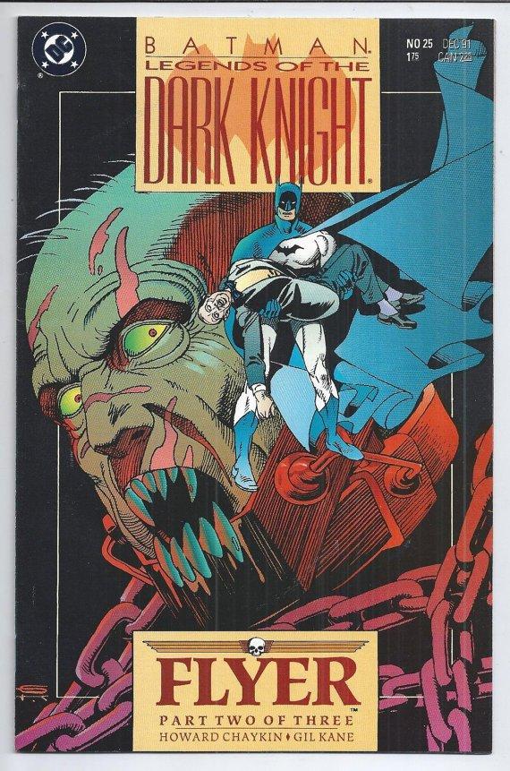Batman: Legends Of The Dark KNIGHT No. 25 Dec 91,DC Comics Book Comic