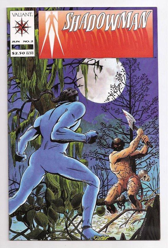 Valiant SHADOWMAN (1992 Series) #2 Near Mint Comics Book Comic