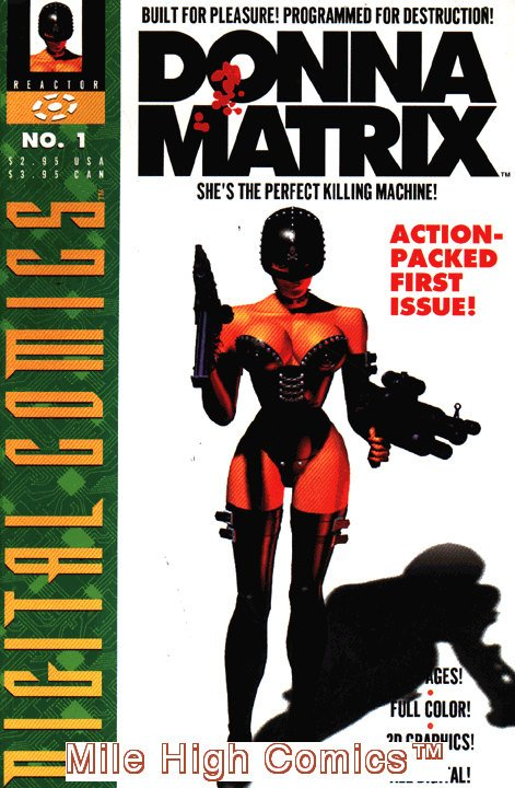 DONNA MATRIX #1 Near Mint Comics Book Comic Reactor First Issue Digital