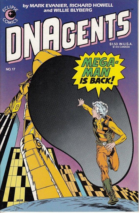 Eclipse Comics DNAgents No. 17 of 24, 1984 Fine Comic Book