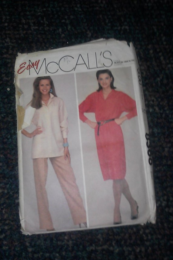 Norton Simon Easy MCCall's Pattern 8368 Miss Size 16 Bust 38 Dress Tunic