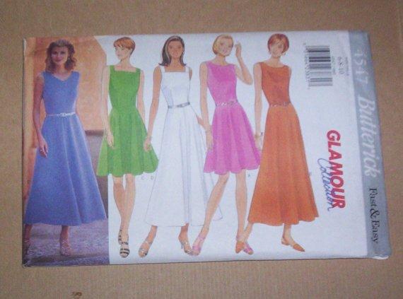 Uncut Butterick Pattern #4547 Misses/Petite Dress Size 18,20,22