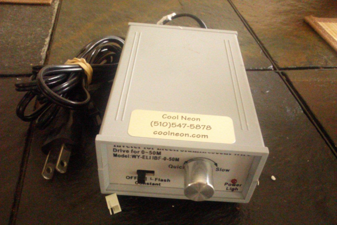 INVETER ELECTROLUMINESCENT WIRE EL.I.IBF-0-50M NEW JOB