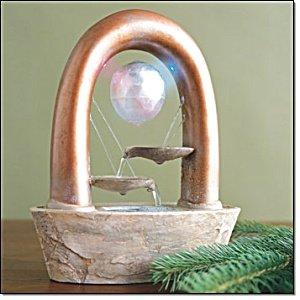 Health Wellness Floating Gem Fountain New F54965-1 New