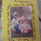 """PATTERNS BY CONNIE LEE FINCHUM BUNNIES LAMBS P1529 15"""" - 16"""" DOLL PATTERN"""
