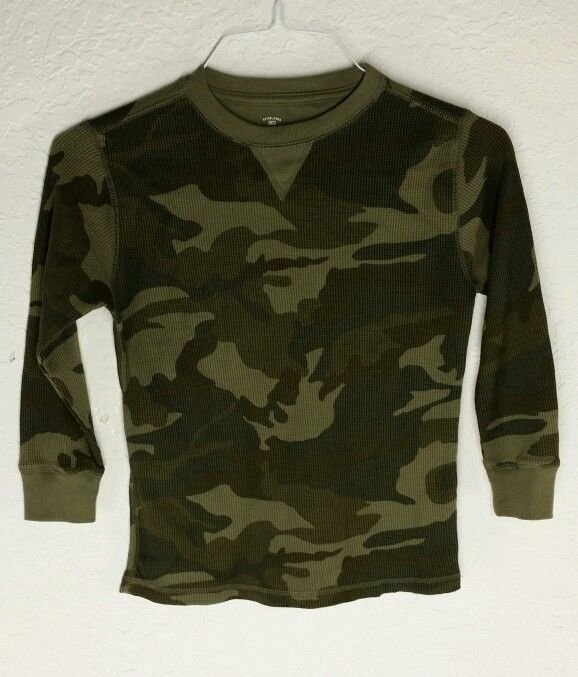 Kids Camouflage long sleeve shirt
