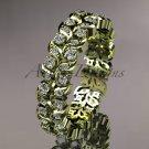14k yellow gold diamond vine and leaf wedding ring, engagement ring, wedding band ADLR36
