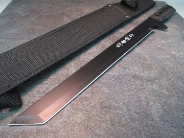 "18"" NINJA BLACK SWORD WITH SHEATH Sku : 1613"