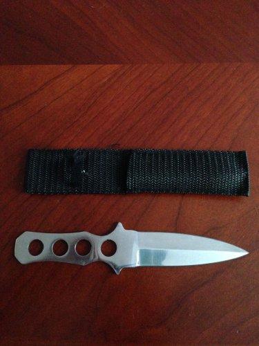 """7""""  KNIFE WITH SHEATH Sku : 454-7"""
