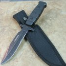 "9"" DEFENDER STAINLESS STEEL HUNTING KNIFE WITH STONE WASHED BLADE Sku : 8092"