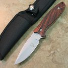 "8"" The Dark Hunter Full Tang HUNTING KNIFE WITH NYLON SHEATH Sku : 7262"