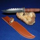 Bear Hunter Hunting KNIFE WITH SHEATH Sku : 6172