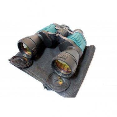 30X50 RUBY COATED BINOCULARS GREEN AND BLACK Sku : 8036
