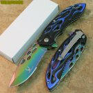 "8"" THE BONE EDGE COLLECTION MULTI-COLOR KNIFE Sku : 7520"