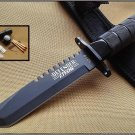 "8.5"" Stainless STEEL SURVIVAL KNIFE  Sku : 5219"