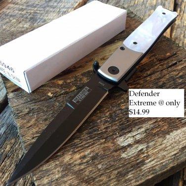 """8 1/2"""" Folding Knife with Clip   SKU:5946"""
