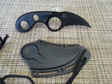 Dark Defender Karambit  Knife with Sheath  Sku : 1794