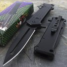 "8"" SPRING ASSISTED FOLDING STILETTO TACTICAL KNIFE Code-Helen Mckinzie"