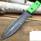 "9.5"" Zombie Full Tang Stone Wash Survival Tactical"
