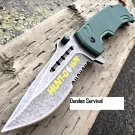 "8"" Camping Military Tactical Spring Assisted Open Pocket Combat Knife"