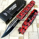 "8"" Zombie War Tactical Combat Spring Assisted Code-Keke Cooper"
