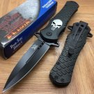 DARK SIDE BLADES Skull Punisher Black Tactical S/A Code-PSMITH
