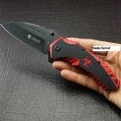 "8"" ZOMBIE KILLER Red Spring Assisted Code-Keke Cooper"