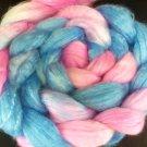4oz Hand Dyed Merino Tencel 50/50