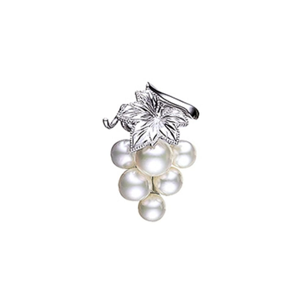 MIKIMOTO Akoya Pearl Pin Brooch PB-20010S Grapes  from Japan Free Shipping NEW
