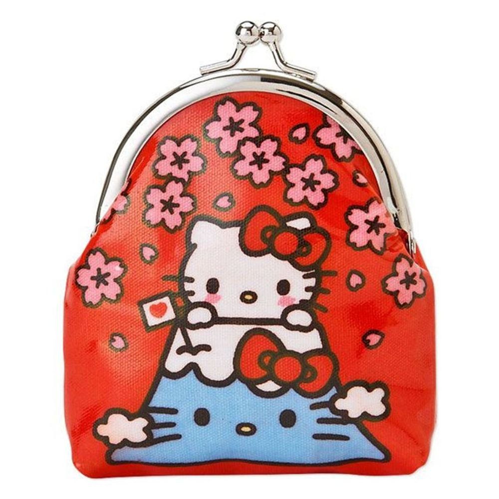 Hello Kitty mini Perth ,Coin case ,Wallet( I LOVE JAPAN Fuji )Japan Original NEW