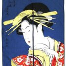 NOREN UKIYOE Geisya ,Geisha Print Japanese Traditional, Curtain, Partition NEW