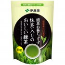 ITOEN Blend Tee ( Green & Macha tea )1000g,35oz, 2.2Ib Sushi Big,large Bag Japan