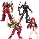 KAIYODO Revoltech EX Gurren Lagann Complete ,Special Edition Set Action Figure J