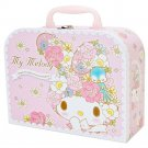 My Melody Paper Trunk ( Bird and flower )case pink from Japan NEW