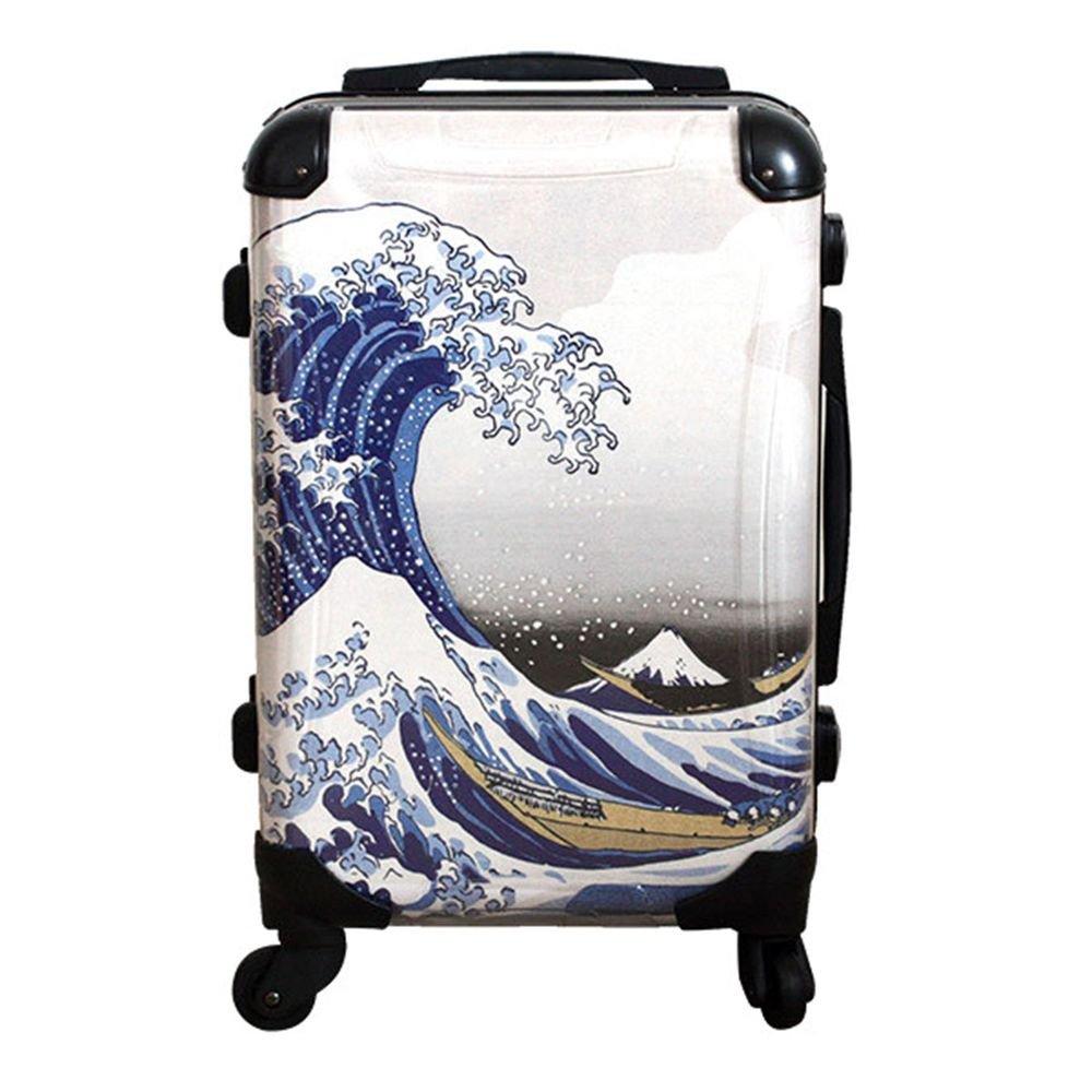 """Japanese UKIYOE Carry Bag, Travel Case"""" Katsushika Hokusai ( Wave Fuji )""""NEW"""