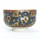 KUTANI YAKI Porcelain Bowl Chawan AOCHIBU Green Tea Cup Japan NEW