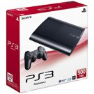 SONY Play Station 3 Console CECH-4000B Charcoal Black 500GB Japan NEW