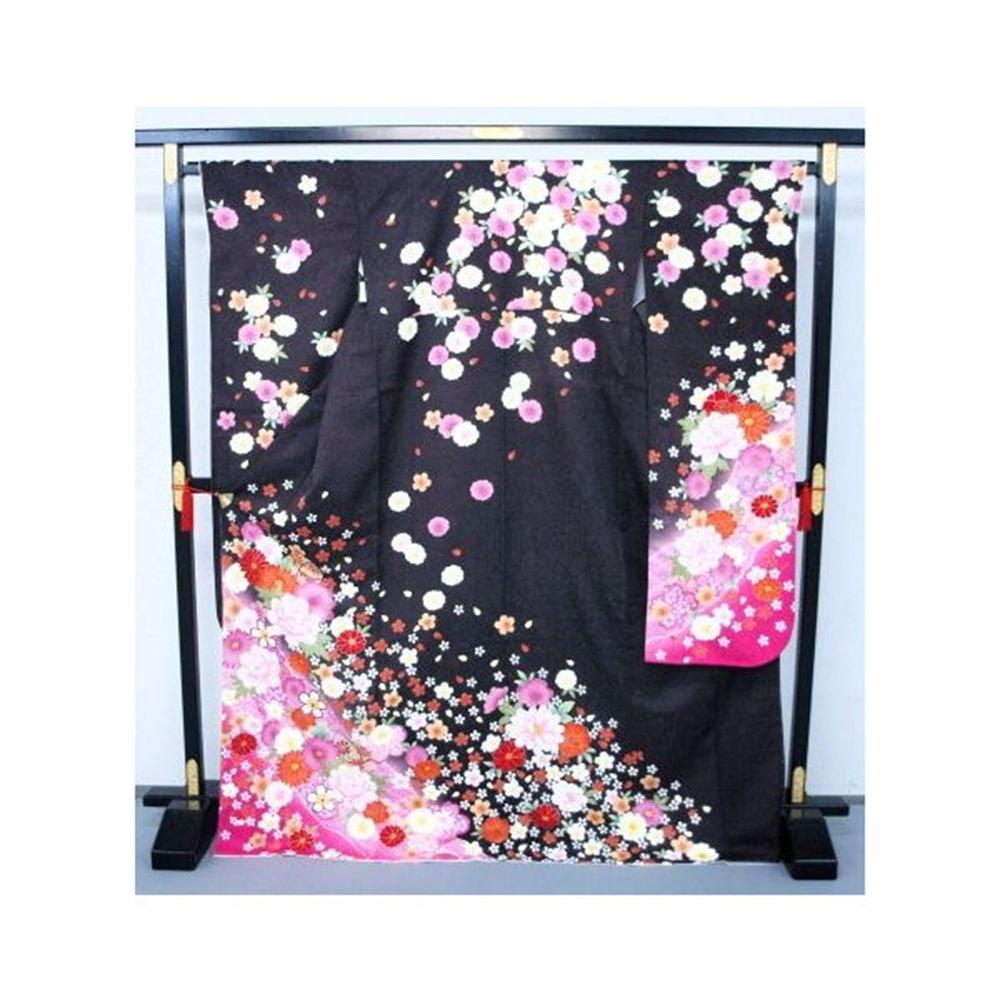 Kyoto High Class Yuzen Furisode Kimono Set  Pure Silk Regular M for Women`s  NEW