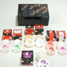 Maiko, Geisha Cosmetic Set Jewelry Box with for Skin Care for Kimono from Japan