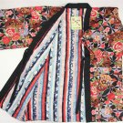 Short coat of kimono Pattern Reversible HANTEN  Room Wear for Women L New